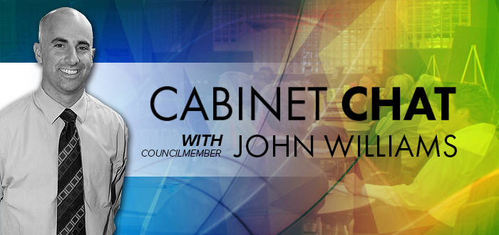 Cabinet Chats with Councilman Williams Launch Nov. 20