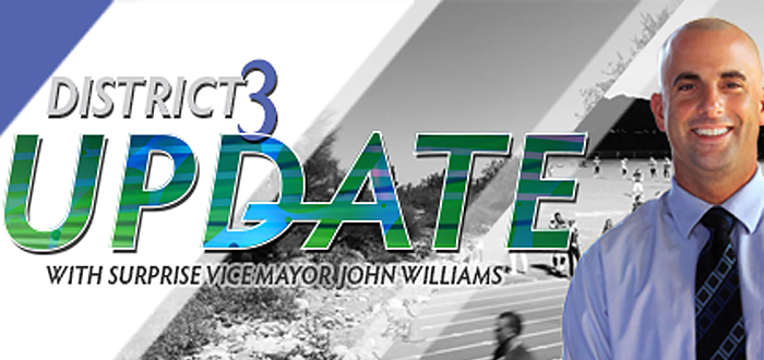 Vice Mayor John Williams' Quarterly Newsletter – Sept. 2015