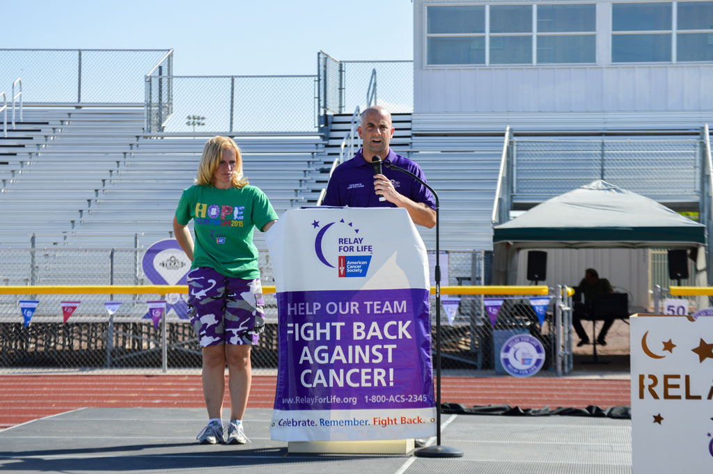 Vice Mayor Williams kicks off Relay for Life