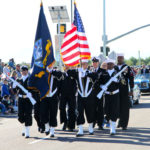 Veterans Day color guard
