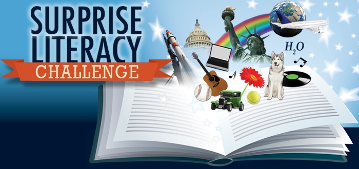 Winners of 3rd Annual Surprise Literacy Challenge announced