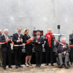 members IRIS USA and Surprise City Council post ribbon cutting
