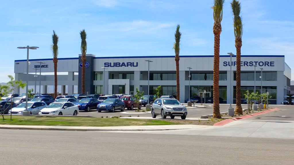 Image of the Subaru Superstore of Surprise facility