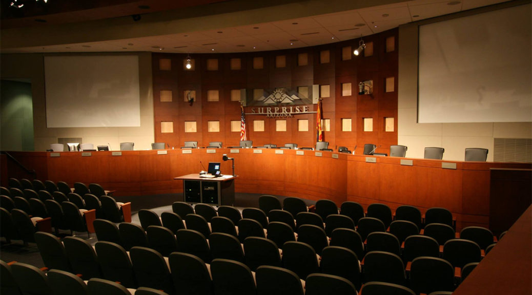 Surprise Council Chambers