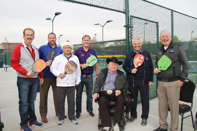 Paddleball Ribbon Cutting