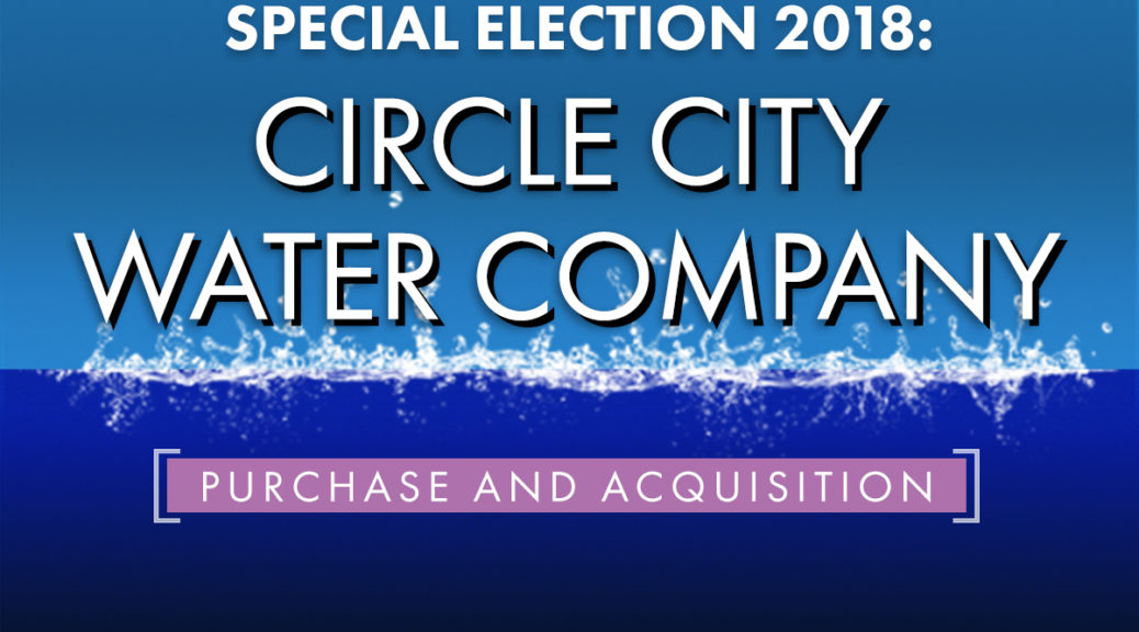 2018 Surprise Water Election