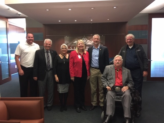 Congresswoman Debbie Lesko visited Surprise City Council