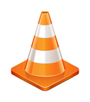 A road construction cone.