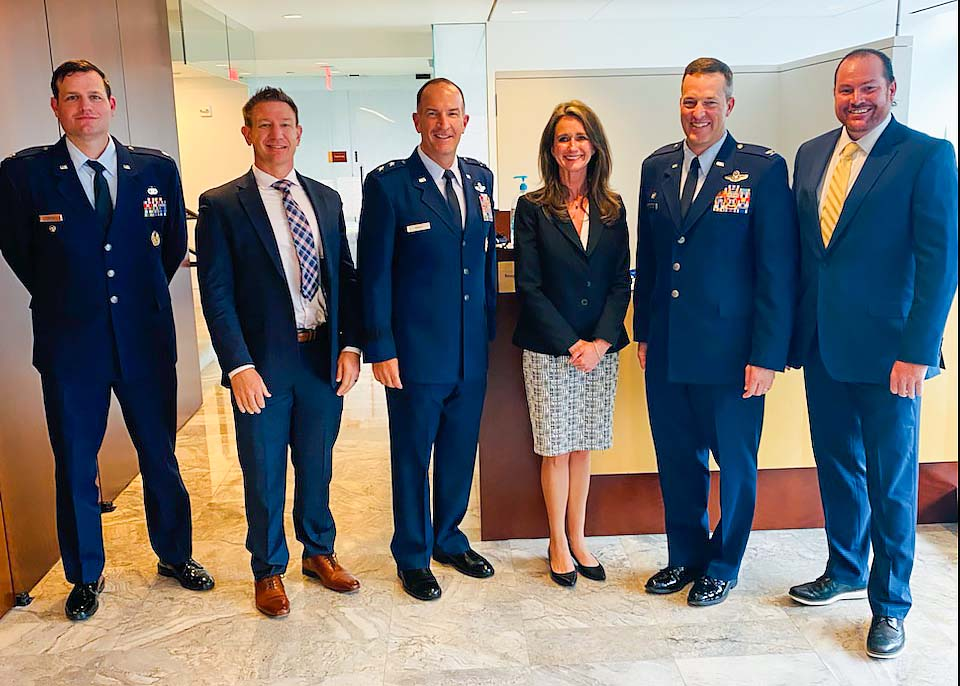Vice Mayor Duffy with the Department of Defense in Washington D.C.
